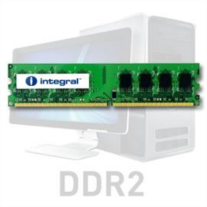 Integral 2GB DDR2-800 UDIMM PC2-6400 CL6, 1.8V