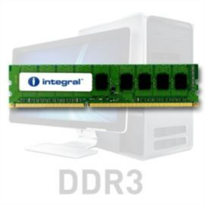 Integral 4GB DDR3-1333 UDIMM PC3-10600 CL9, 1.5V