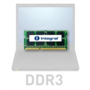 Integral 4GB DDR3-1333 SODIMM PC3-10600 CL9, 1.5V