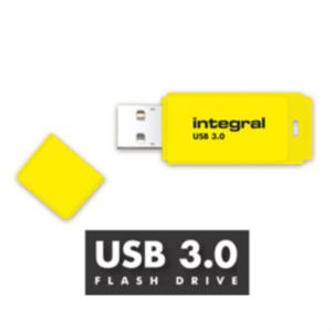 INTEGRAL NEON 16GB USB3.0 rumen spominski ključek