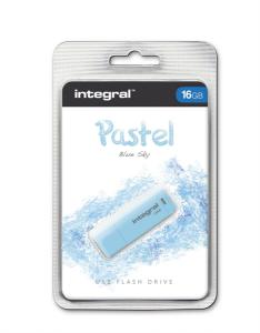 INTEGRAL PASTEL 16GB USB2.0 Blue Sky spominski ključek