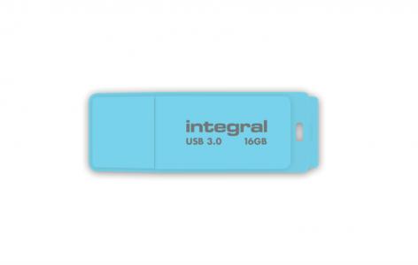 INTEGRAL PASTEL 16GB USB3.0 Blue Sky spominski ključek