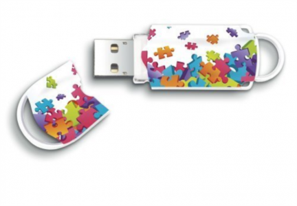 INTEGRAL XPRESSION PUZZLE 16GB USB2.0 spominski ključek