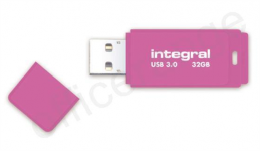 Integral 32GB NEON pink 3.0