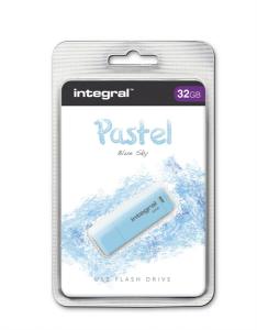 INTEGRAL PASTEL 32GB USB2.0 Blue Sky spominski ključek
