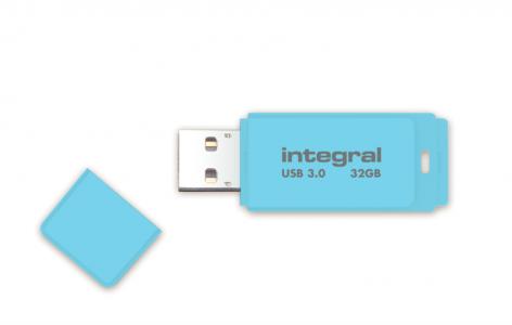 INTEGRAL PASTEL 32GB USB3.0 Blue Sky spominski ključek