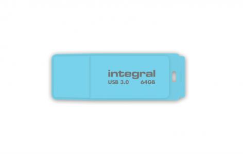 INTEGRAL PASTEL 64GB USB3.0 Blue Sky spominski ključek