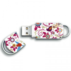 INTEGRAL XPRESSION BIRD 64GB USB2.0 spominski ključek