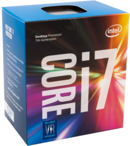 Intel Core i7 7700 BOX procesor, Kaby Lake