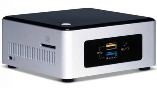 Intel NUC kit Celeron NUC5CPYH 2,5""