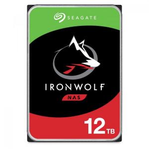 Seagate NAS 12TB 7200 trdi disk SATA 3, 256MB IronWolf