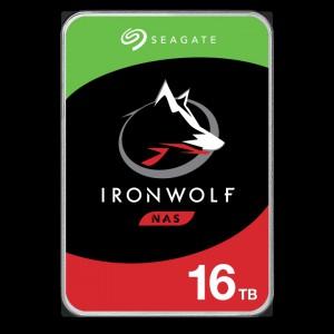 Seagate NAS trdi disk 16TB 7200 256MB SATA3 IronWolf
