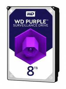 WD PURPLE 8TB SATA3, 6Gb/s, 5400, 256MB