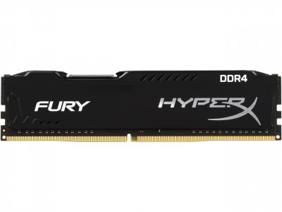 Kingston HyperX Fury 8GB DDR4-2400 DIMM PC4-19200 CL15, 1.2V