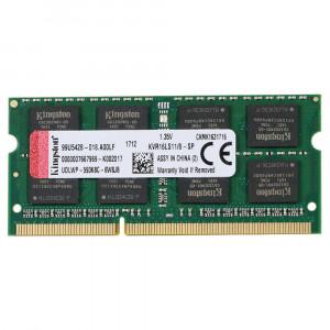 Kingston 8GB DDR3-1600MHz SODIMM PC3-12800 CL11, 1.35V