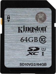 KINGSTON 64GB SDXC CL10 UHS-I 45MB/s SPOMINSKA KARTICA