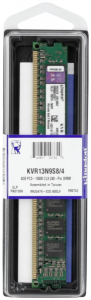 KINGSTON 4GB DDR3 1333 non-ECC CL9 single rank