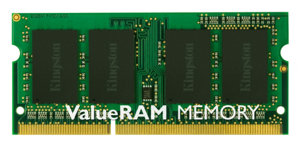 KINGSTON 4GB DDR3 1600 CL11 SODIMM za prenosnike, single rank