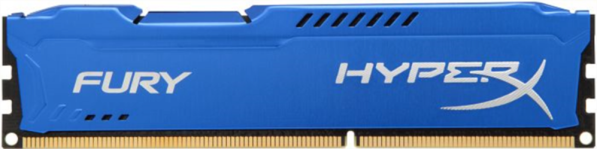 KINGSTON Hyperx Fury 4GB DDR3 1866 CL10 blue