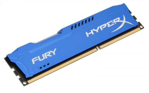 KINGSTON HyperX Fury 8GB DDR3 1600 CL10 blue