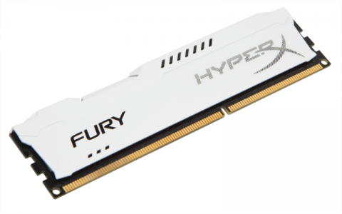 KINGSTON Hyperx Fury 8GB DDR3 1866 CL10 white