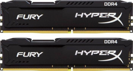 KINGSTON HyperX Fury 8GB (2x 4GB) 2133 DDR4 CL14 1.2V Black serija