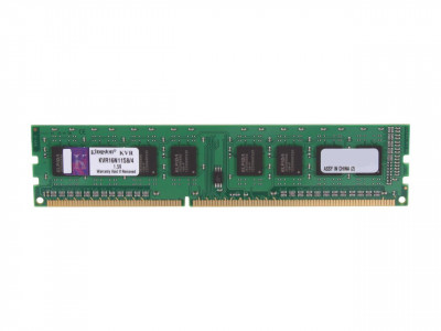 Kingston 4GB DDR3-1600MHz DIMM PC3-12800 CL11, 1.5V