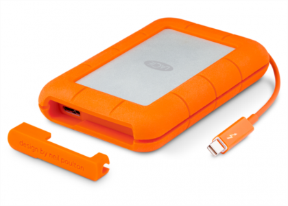 LaCie 2TB Rugged Thunderbolt & USB3
