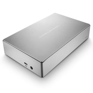 LaCie 8TB Porsche Design 3,5 USB-C 3.0 srebrn