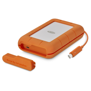 LaCie 4TB Rugged Thunderbolt & USB 3.1 Type C