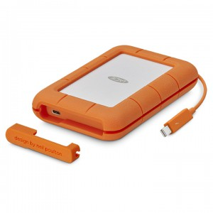 LaCie 1TB Rugged SSD Thunderbolt & USB 3.1 Type C