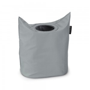 Brabantia koš za perilo, ovalno 50L siva