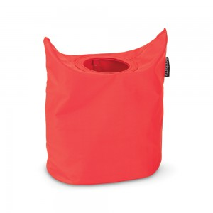 Brabantia koš za perilo, ovalno 50L rdeč