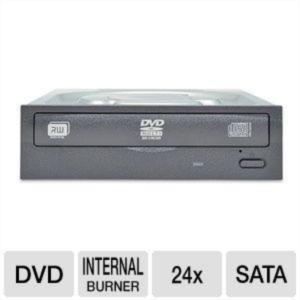 Liteon IHAS124-14 24x DVD-RW zapisovalnik, SATA, črn, oem