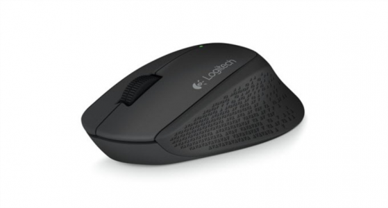 Logitech M280 Wireless miška, črna