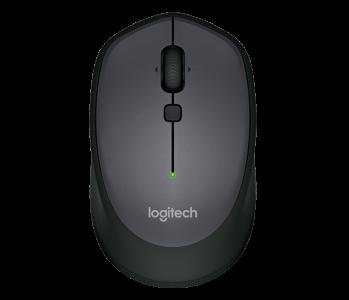 Logitech M335 brezžična Unifying miška, črna