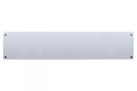 MILL panelni konvekcijski radiator 1000W siv steklo low profile MB1000L DN G