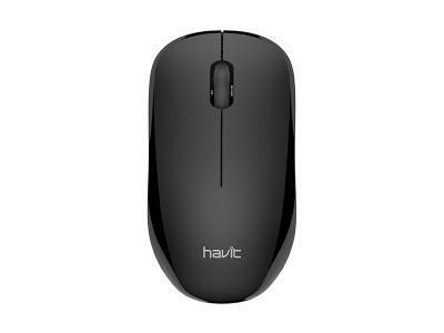 HAVIT brezžična optična miška HV-MS66GT - Črna
