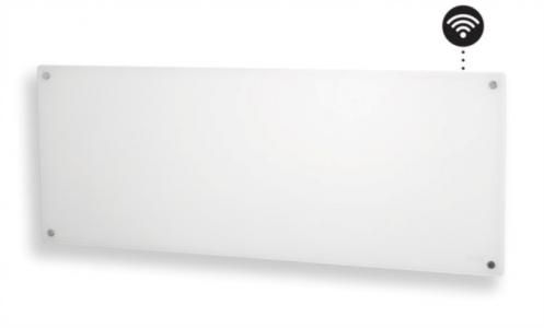 Mill stenski radiator 1200W WIFI steklen