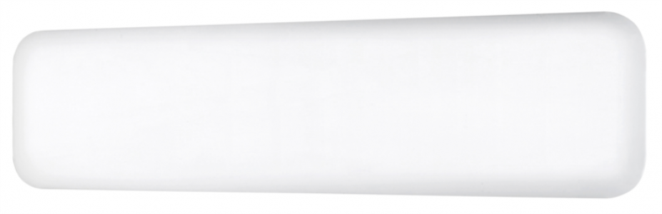 MILL panelni konvekcijski radiator 800W bel jeklo low profile IB800L DN