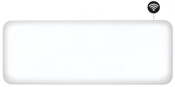 MILL panelni konvekcijski radiator Wi-Fi 1200W jeklo NE1200WIFI