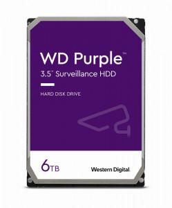 WD PURPLE 6TB SATA3, 6Gb/s, 5640, 128MB