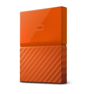 WD My Passport 2TB USB 3.0, oranžen