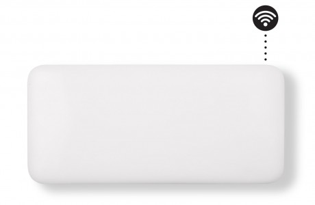 MILL panelni konvekcijski radiator Wi-Fi 900W bel jeklo NE900WIFI