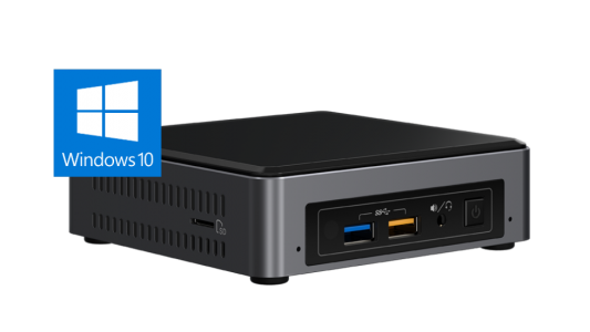 Intel NUC mini računalnik - i5 / 8GB / 256 NVMe /  Windows 10 Home