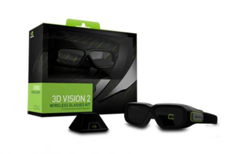nVidia 3D Vision 2 očala Wireless KIT
