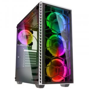 KOLINK OBSERVATORY BLACK E-ATX RGB osvetljeno ohišje, belo