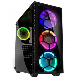 KOLINK OBSERVATORY BLACK E-ATX RGB osvetljeno ohišje, črno