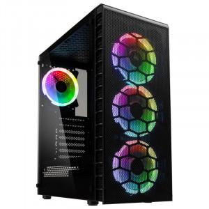 KOLINK OBSERVATORY LITE MESH ATX RGB osvetljeno ohišje, črno