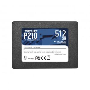 "Patriot P210 512GB SSD SATA 3 2.5"""